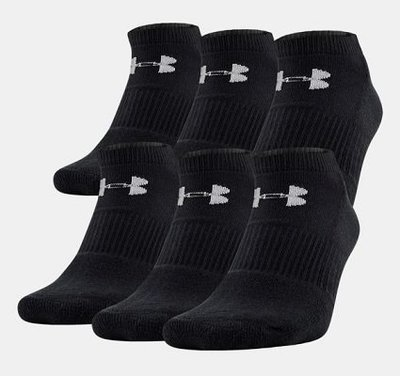 Спортивные носки Under Armour Charged Cotton® 2.0 No Show