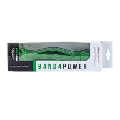 Зеленая резиновая петля Band4Power (17-54 кг)