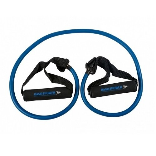 Трубчатый эспандер средняя нагрузка (синий) Band4Power