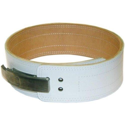 Кожаный пояс-ремень для пауэрлифтинга под карабин COBRA, трехслойный