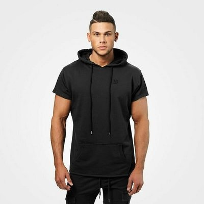 Безрукавка Better Bodies Bronx T-shirt hoodie, Wash black