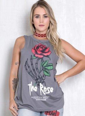 Майка женская Rock Code Regata Skull Rose