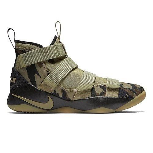 Баскетбольные кроссовки NIKE LeBron Soldier XI Camo