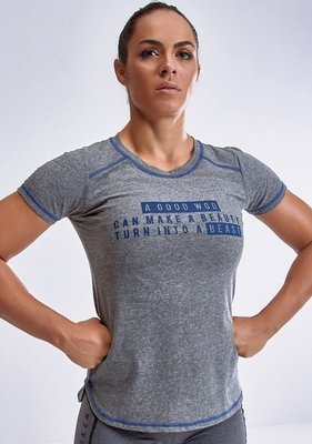 Футболка Labellamafia Unbroken Blue Tech Cross Training Shirt