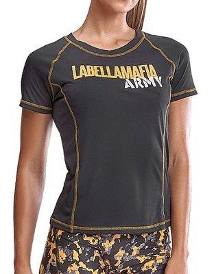 Футболка Labellamafia Grey Army Shirt