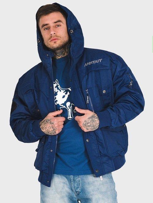 Куртка Amstaff Conex Winterjacke 2.0, Dark Blue