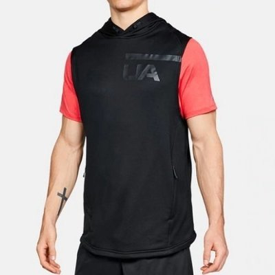 Безрукавка Under Armour MK-1 Terry, Black / Graphite