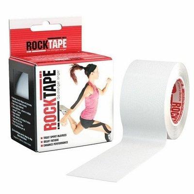 Кинезиотейп RockTape 5см х 5м, Белый (White)