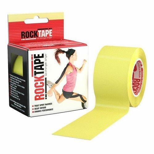 Кинезиотейп RockTape 5см х 5м, Жёлтый