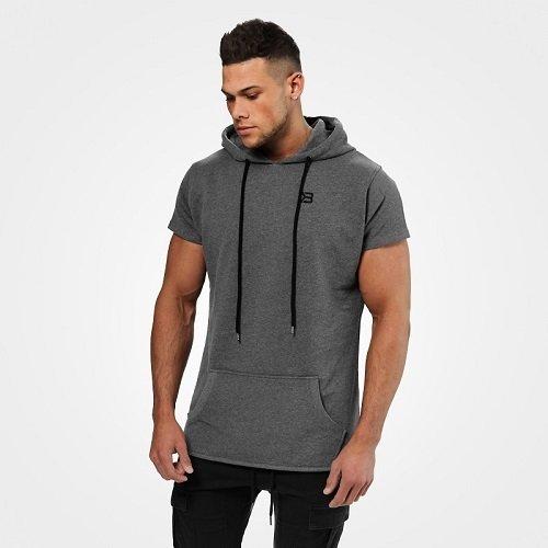 Безрукавка Better Bodies Bronx T-shirt hoodie, Dark greymelange