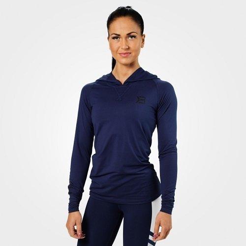 Кофта с длинным рукавом Better Bodies Performance ls hood, синий