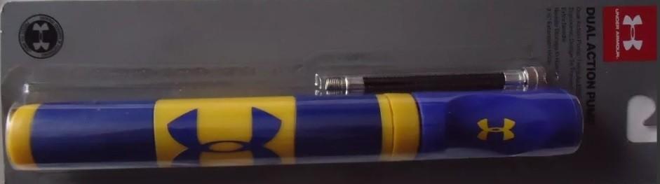 Спортивный насос для мячей с иглой Under Armour Dual Action Pump