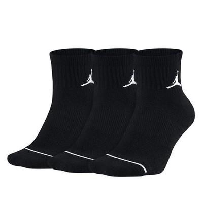Носки спортивные Jordan, черные (Цена за 1 пару)
