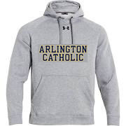 Youth Gray Under Armour Hoodie