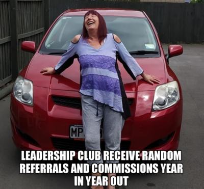 Leadership Club VIP Elite.