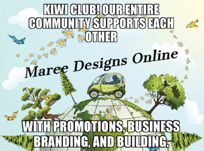 Maree Designs Kiwi Club.