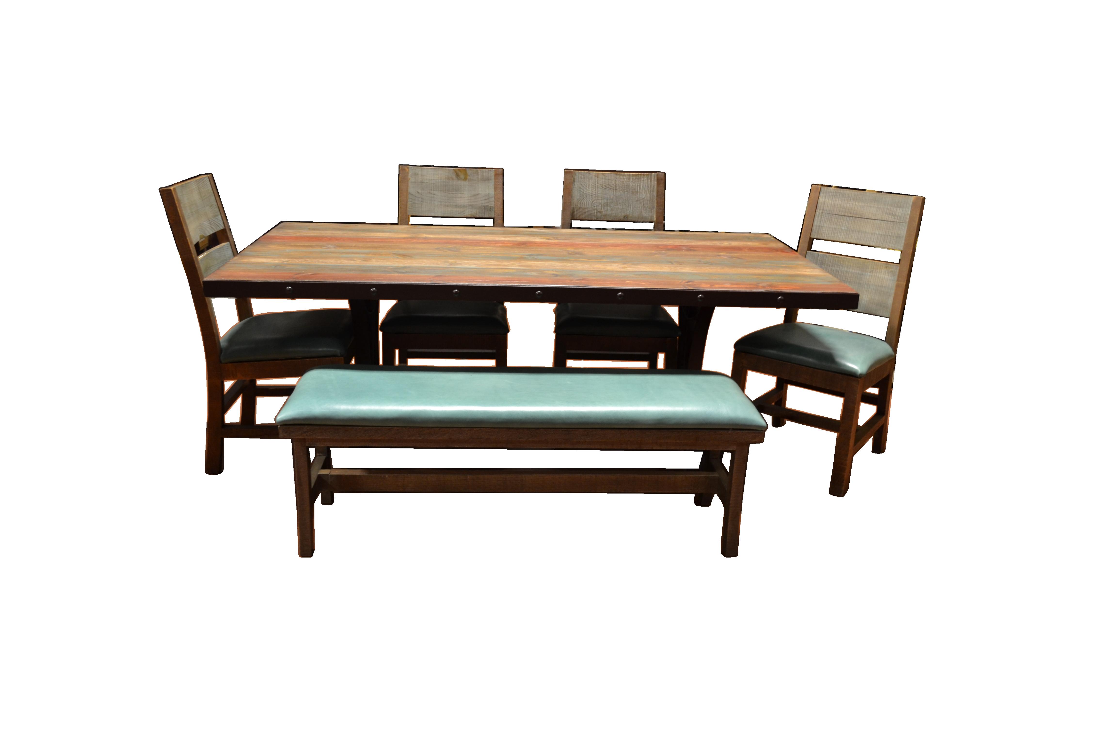 Urban Rustic Table Set Western Furniture Store Texas