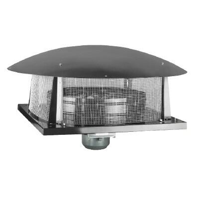 Крышный осевой вентилятор с горизонтальным выбросом воздуха BACF 300M | завод вентиляторов Bahcivan Motor (BVN)