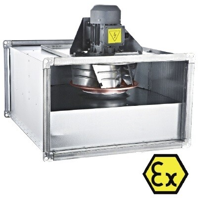 Прямоугольный канальный вентилятор BDKF-R -EX 450 T | завод производитель Bahcivan Motor (BVN)