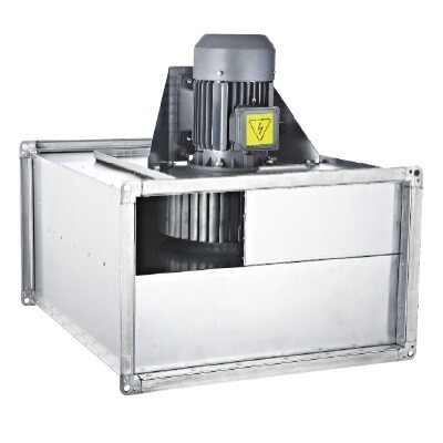 Прямоугольный канальный вентилятор BSKF-R 400- 6 T   завод вентиляторов Bahcivan Motor (BVN)