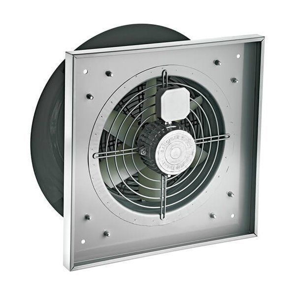 Крышный осевой вентилятор с горизонтальным выбросом воздуха BACF 560M   завод вентиляторов Bahcivan Motor (BVN)