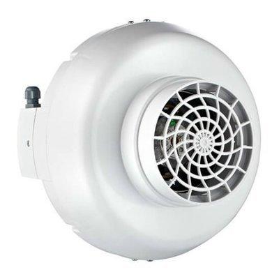 Пластиковый круглый канальный вентилятор BPX | завод производитель Bahcivan Motor (BVN)