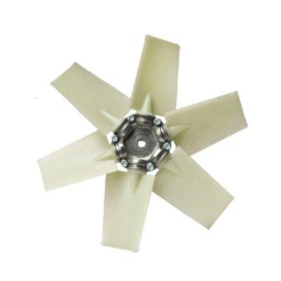 Пластиковая крыльчатка осевая для вентилятора B6P 350 BVN (Bahcivan)