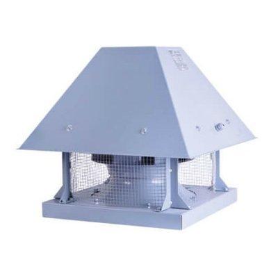 Крышный вентилятор с горизонтальным выбросом воздуха BRCF 280M | завод Bahcivan Motor (BVN)