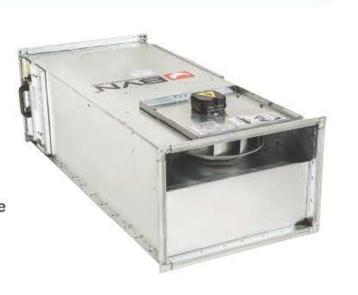 Канальный вентилятор для бункеров и убежищ  BSH-C 50-20   завод вентиляторов Bahcivan Motor (BVN)