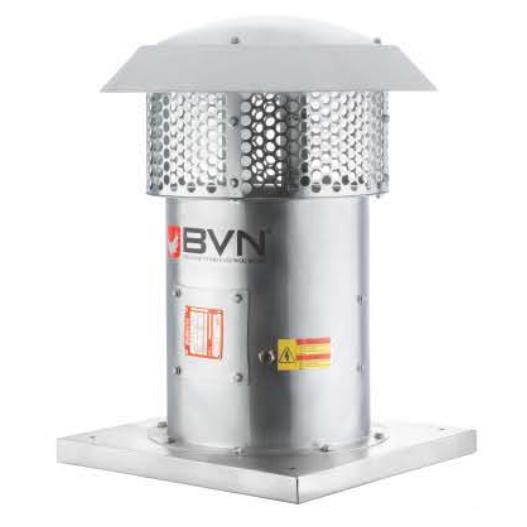 ARMO-R 900T/6-32 Осевые крышные вентиляторы дымоудаления 15кВт 55000 м3/час  BVN