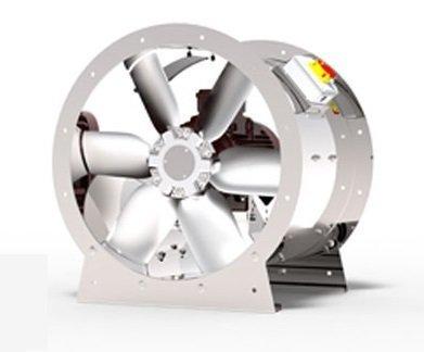 ARMO-A 1250T/6-20 Осевые вентиляторы дымоудаления 30кВт 100000 м3/час  BVN