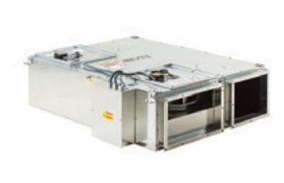 BGK 100 Приточно-вытяжная установка BGK с рекуперацией тепла с электронагревателем 1000 / 2500 м3/час  BVN
