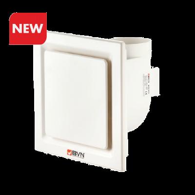 BPR 1015  Бытовой радиальный вентилятор для ванной комнаты 150 м3/час 180 pa BVN