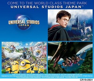 USJ 1.5 Days (Consecutive) Fixed Date Studio Pass
