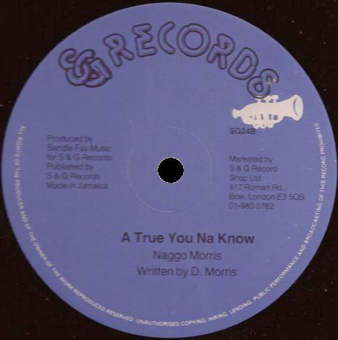 Naggo Morris - Going Place/A True You Na Know 12''
