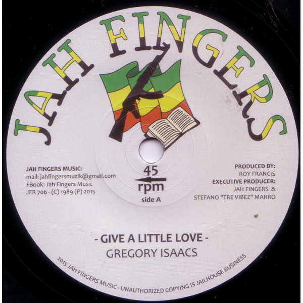 Gregory Isaacs - Give A Little Love 7""