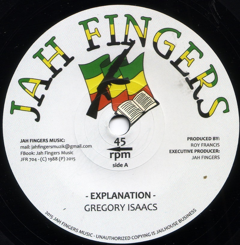 Gregory Isaac - Explanation 7''