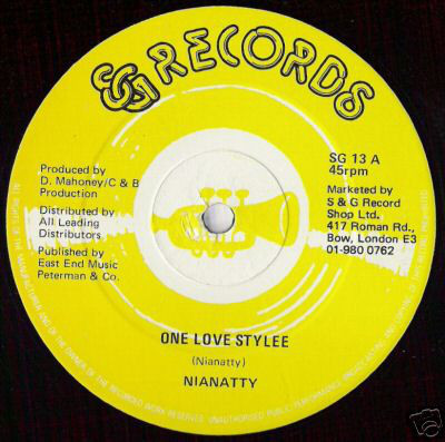 Nianatty - One Love Style 12''