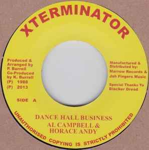 Al Campbell & Horace Andy - Dancehall Business 7''