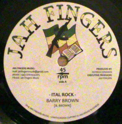 Barry Brown - Ital Rock 7