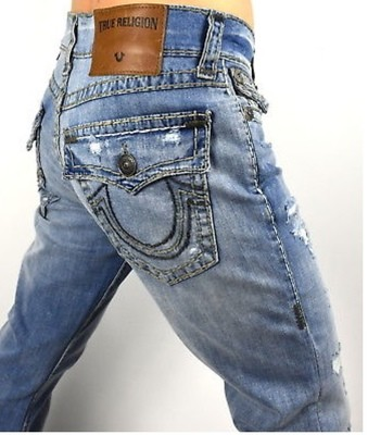 True Religion VENOM Triple Super T Strech
