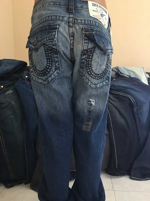 TRUE RELIGION DEEP BLACK