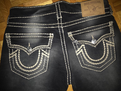 TRUE RELIGION BLKWFADE