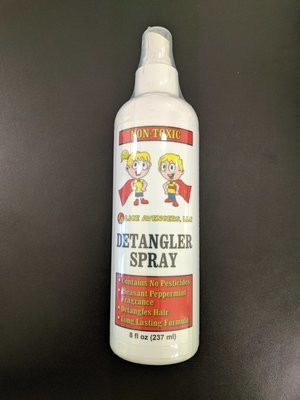 Mint Scented Detangler Spray