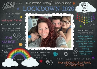 Family 'Board' at Home!