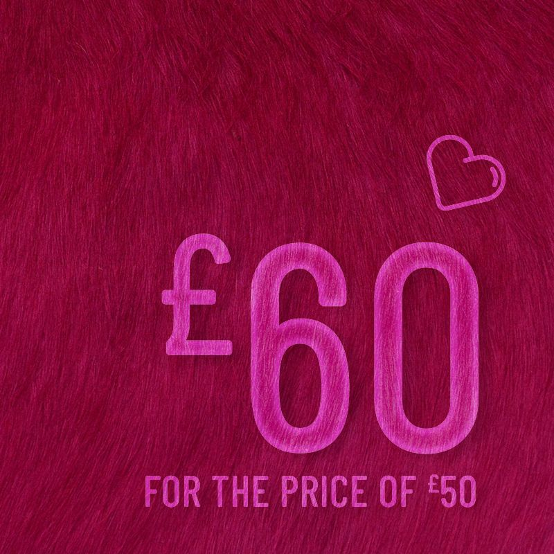 Barrie Stephen Valentine's Gift Card: £60 for only £50 00021