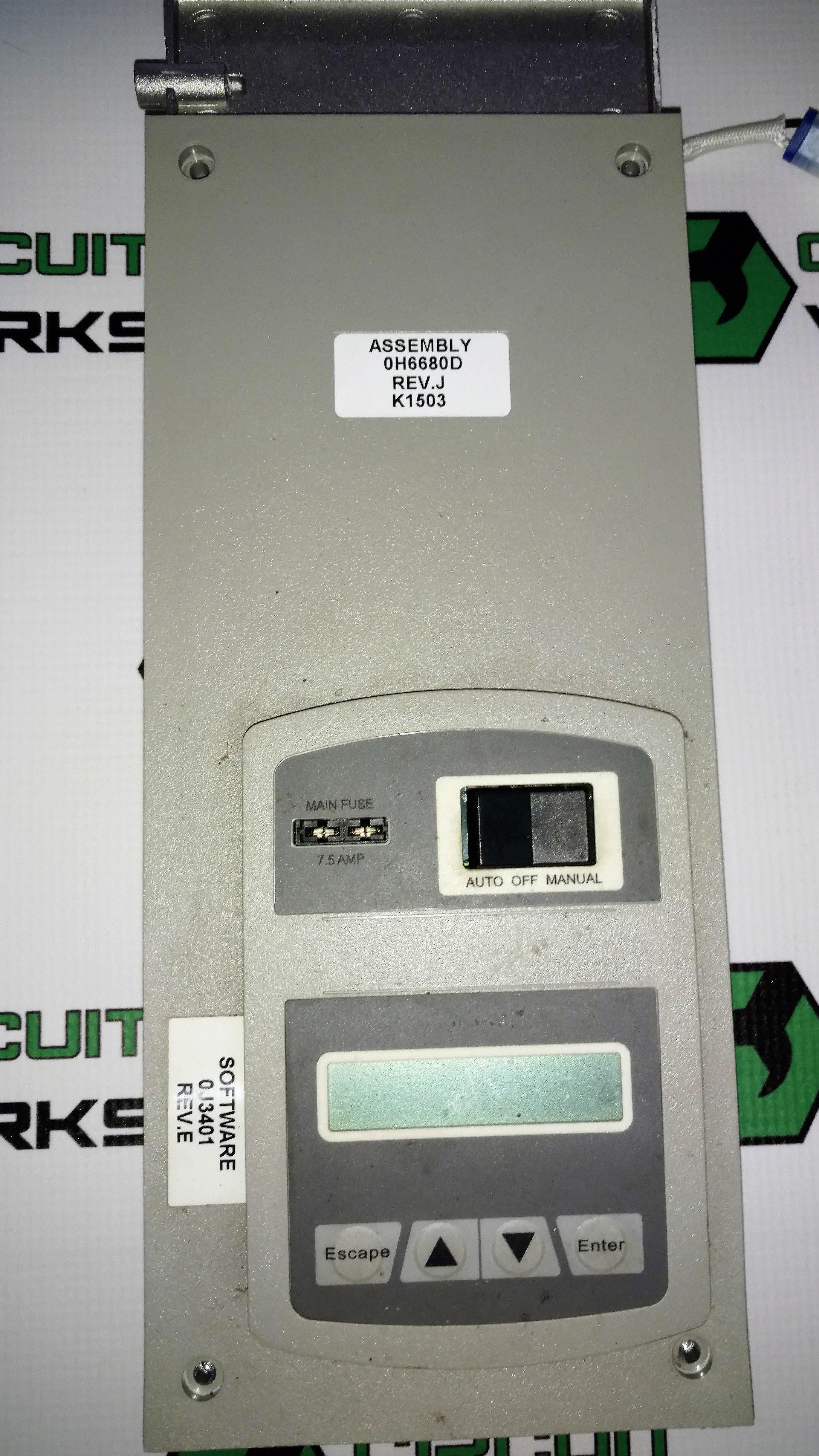 0H6680D SRV GENERAC Board - Repair 0H6680DSRV