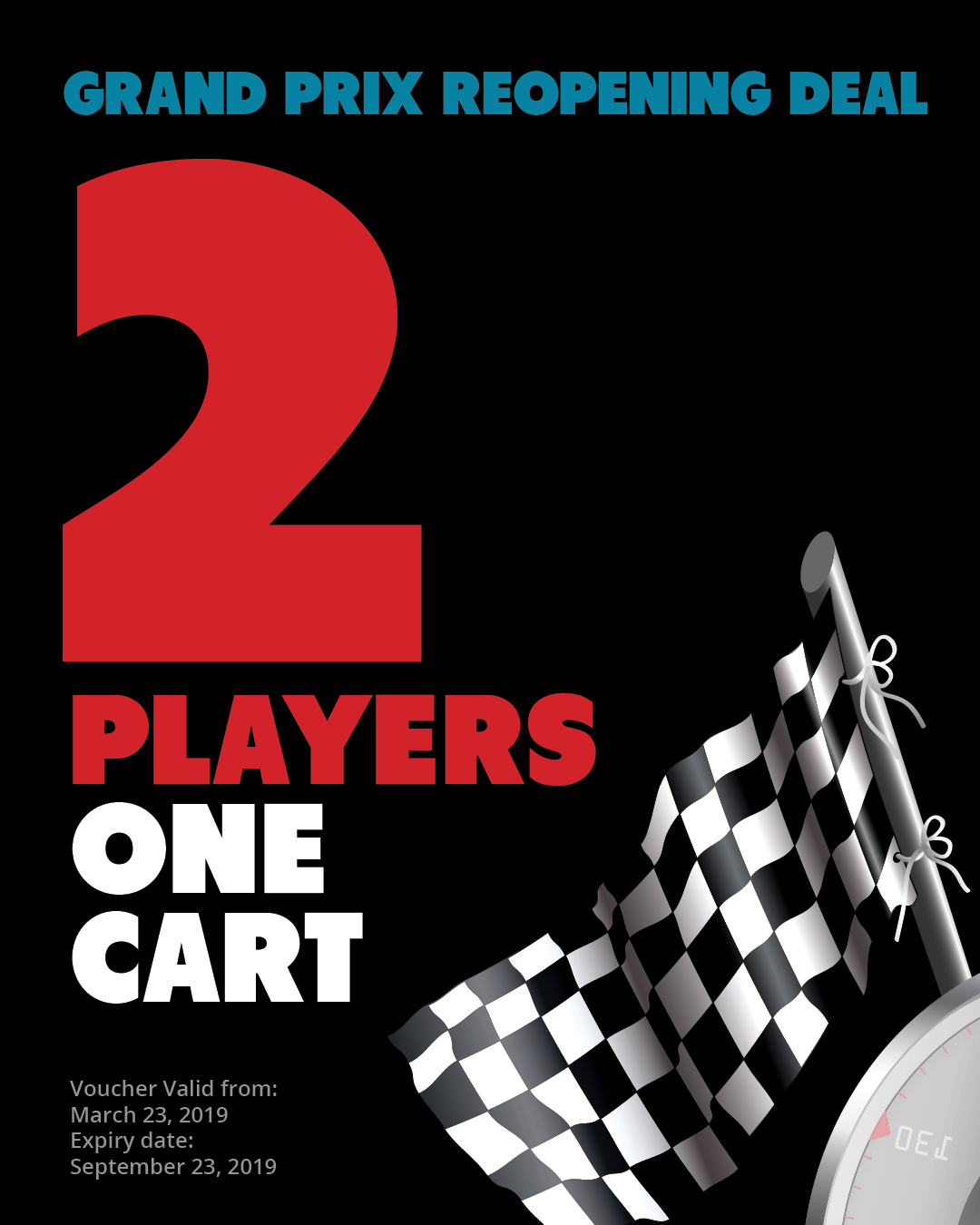 SPECIAL | Golf for 2 players with 1 cart 19GP2PLAYERS