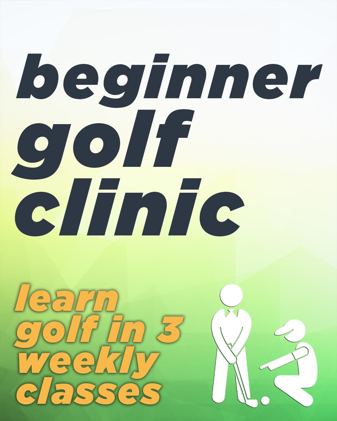 Beginner Golf Clinic VGCB