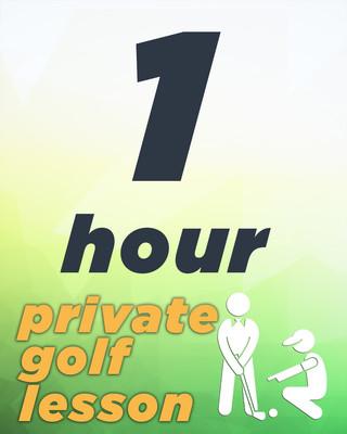 1 Hour Private Golf Lesson